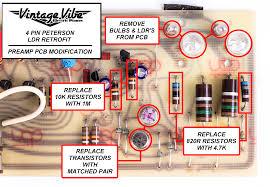 fender rhodes peterson pre amp ldr vibrato retrofit vintage vibe 4 pin ldr retrofit wiring