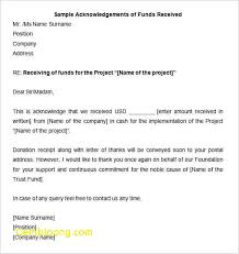 Received Letter Beautiful 32 Acknowledgement Letter Templates Free
