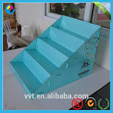 table display stands. table top cardboard tiered display stands a