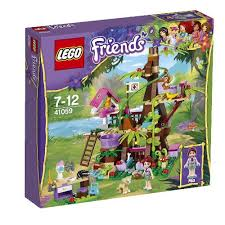Adventure Camp Tree House 41122 U0026 Adventure Camp Rafting 41121 Friends Lego Treehouse