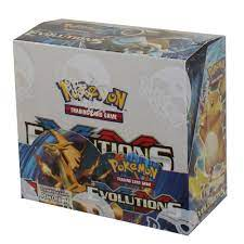 Pokemon Cards - XY Evolutions - Booster Box (36 Packs): BBToyStore.com -  Toys, Plush, Trading Cards, Action Figures & Games online retail store shop  sale