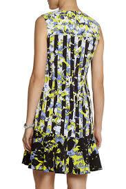 Peter Pilotto Size Chart Printed Crepe Dress