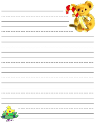 Christmas Writing Paper Template Free Free Christmas Writing Paper Free Writing Paper Free Printable