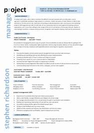... Project Resume format Beautiful Project Manager Resume Resume for Project  Manager Position ...