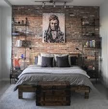 brick bedroom furniture. Big Brick Accent Wall Bedroom Furniture