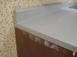 closeup of painted countertops as you can