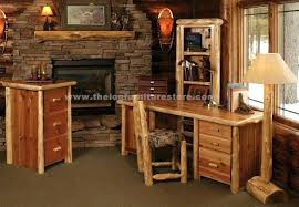 rustic desks office furniture. Rustic Desk Furniture Timberline Cedar Log Computer Office Houston . Desks D