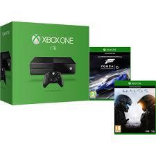 xbox one 1tb console includes halo 5 guardians forza motorsport 6 games consoles zavvi