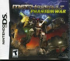 Handheld video game:Nintendo DS MechAssault: <b>Phantom</b> War ...