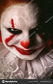 Girl Clown Face Designs Clown Face Designs Evil Clown Face Stock Photo Lekcej