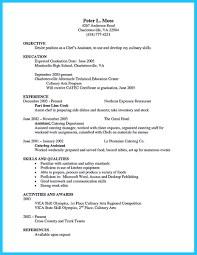 Cover Letters For Chefs Awesome Excellent Culinary Resume Samples To Help You Approved 23