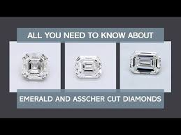 Diamonds Cuts And Clarity Emerald Cut Diamond Shape Quality Color And Clarity