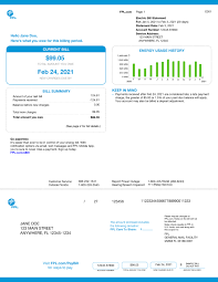 fpl rates how to read your bill