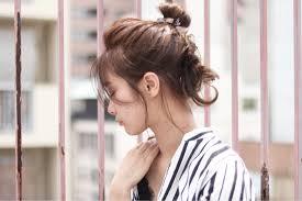 暑い夏のヘアレンジはすっきり爽やかなまとめ髪で決まり キナリノ