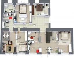 Or a 3D floor plan: