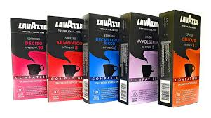 ( 4.9 ) out of 5 stars 19 ratings , based on 19 reviews current price $11.53 $ 11. Amazon Com Lavazza Espresso Capsules Compatible With Nespresso Original Machines All Variations For A Total Of 50 Capsules All 5 Flavors Total Of 50 Capsules Grocery Gourmet Food