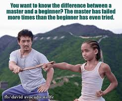 Karate Kid Quotes Delectable The Difference Between A Master And A Student David Avocado Wolfe