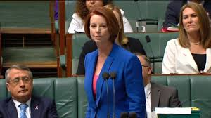 Julia Gillard Misogyny Speech to ...