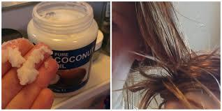 kokosolie goed voor haargroei