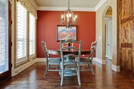 Beautiful Dining Room Paint Ideas With Accent Wall