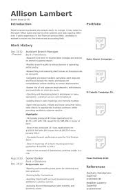 Bank Manager Resume Template Simple Branch Manager Resume Sample Engneeuforicco