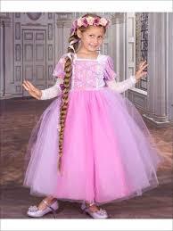 Add To Wishlist Girls Velvet Rapunzel Inspired Halloween Costume