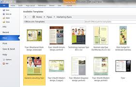 Templates In Ms Word 2010 Word 10 Templates Barca Fontanacountryinn Com