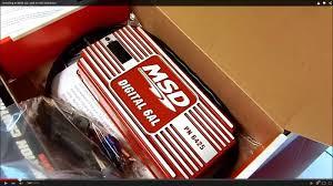 installing an msd 6al an hei distributor