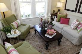 big furniture small living room. Tiny Living Room Space In Colorful Design With Green Armchairs And Off-white Sofa. Big Furniture Small