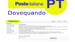 DoveQuando Poste italiane, come tracciare la raccomandata ...
