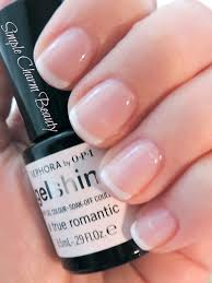 sephora by opi gel french manicure kit a true romantic and white hot simple charm beauty gel polish