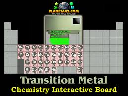 Transition Metal Elements | Chemistry Online Game