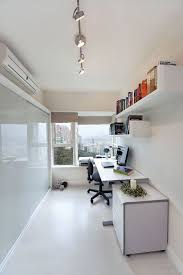 home office modern. Narrow Office Shelving Home Modern