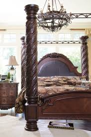 king size canopy bed ashley furniture. Brilliant Bed Inside King Size Canopy Bed Ashley Furniture D