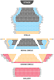 Royal George Seating Chart Headout West End Guide Theatre Royal Haymarket Seating Plan