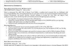 Restaurant Manager Resume Cover Letter Jmcaravans