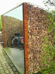 Small Picture How to use the natural stone wall as garden fencing panels