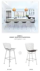 bertoia style chair. Knoll Henry Bertoia Barstool For $1,057 Vs Instyle Modern Wire Style Counter Stool (set Chair A