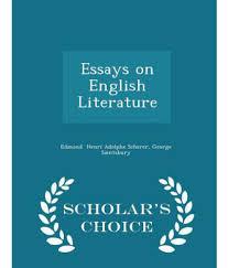 essays on english literature english literature essays essays on essays