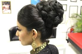 Indian Hair Style tutorial indian bridal hairstyle youtube 7242 by wearticles.com