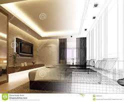 interior design bedroom sketches. Download Sketch Design Of Interior Bedroom Stock Illustration -  Of Illustration, Industry: 36948197 Interior Design Bedroom Sketches
