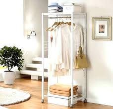 Wardrobe Coat Rack Delectable Garment Rack With Shelves Bedroom Clothes Stand Clothes Rack Bedroom