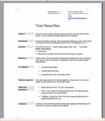 6 What Does A Job Resume Look Like Basic Job Appication Letter.