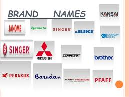 Sewing Machine Brands Names