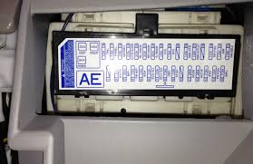 tow hitch wiring question toyota rav4 forums did you check this fuse panel under the dash near the hood release