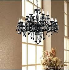 unforgettable black crystal chandeliers at factory direct black color custom black chandelier crystal prisms