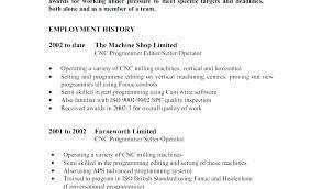 Sample Machinist Resume Machinist Resume Samples Machinist Resume ...