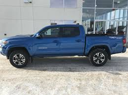 New 2018 Toyota Tacoma 4 Door Pickup in Red Deer, AB J7052