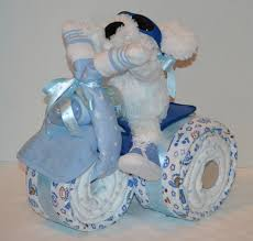 blue towel baby shower gift ideas for boys