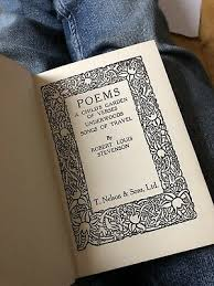 Robert louis stevenson's songs of travel and other verses consists of 44 parts for ease of reading. Poems Including A Child S Garland Of Verses Underwoods Ballads By R Stevenson 16 00 Picclick Uk